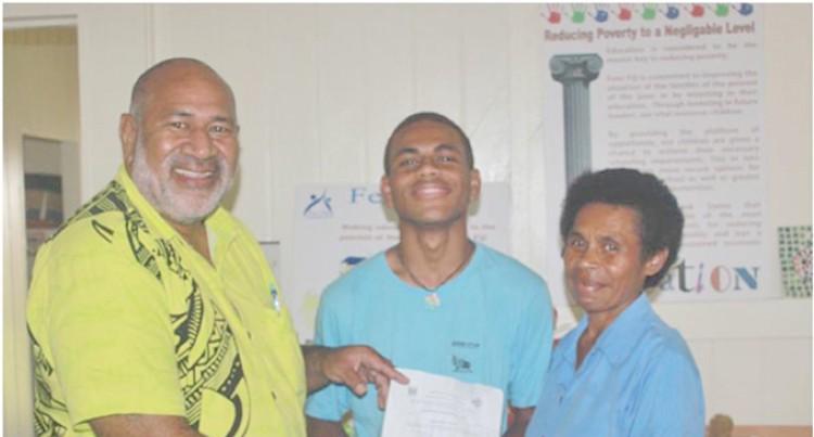 Single Mum Thanks FENC for Helping Son