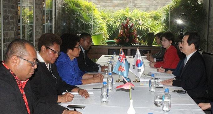 Fiji, South Korean Parliaments Strengthen Ties