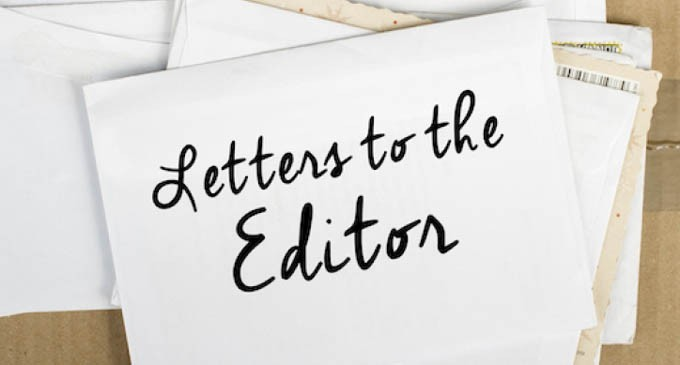 Letters To The Editor 19th March 2018