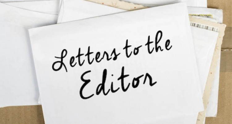 Letters To The Editor, 10th January, 2017