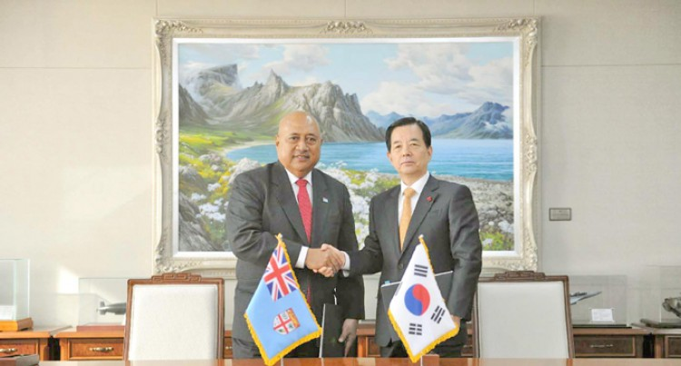 Fiji, South Korea Boost Military Co-operation