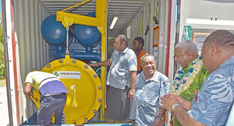 Fiji's First Self-Contained Mobile  Timber Treatment Plant In Kadavu