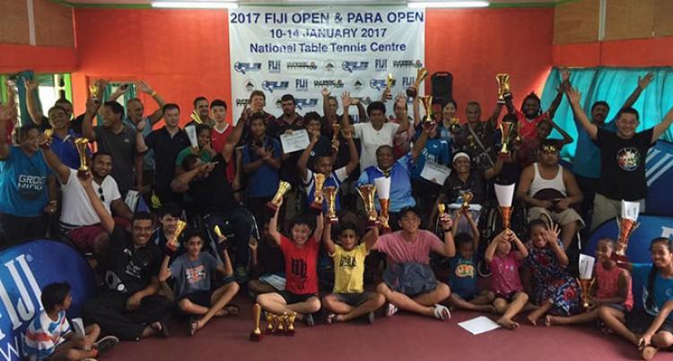 Rising Table Tennis stars shine