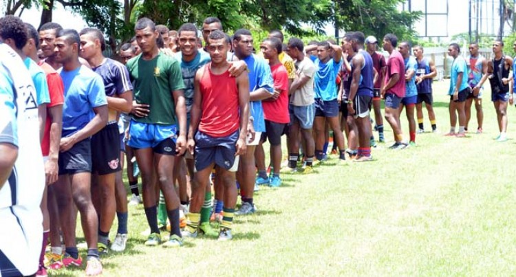 High Turnout At Rugby Trials