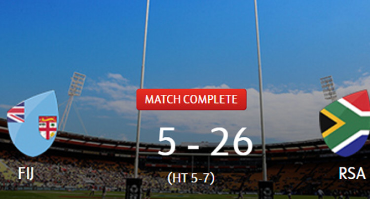 Fiji Fights Gallantly Despite Losing To South Africa