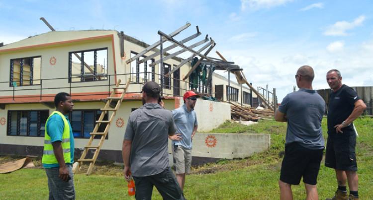 Red Cross Fiji, NZ Start Works on Ra School