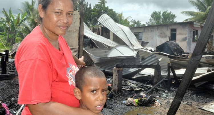 Mum In Shock After Home  Destroyed