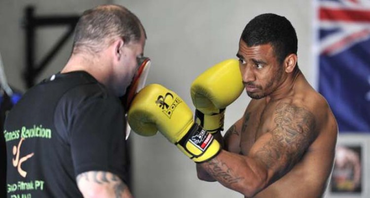 Quinlan In London For Fight