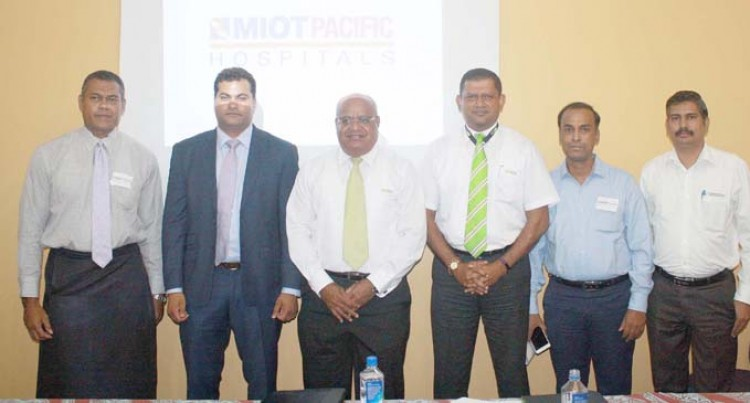 Suva Private Hospital Renamed as MIOT Pacific Hospitals