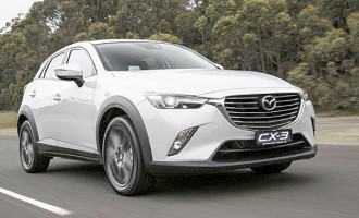 All-new Mazda CX-3 Compact Crossover SUV revealed