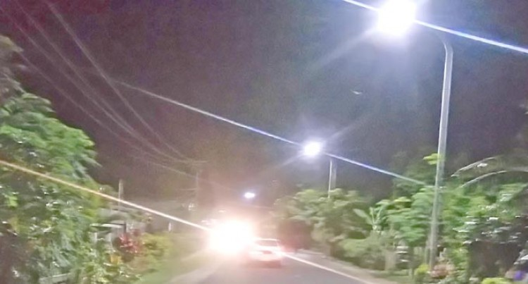 More Streetlights To Be  Installed And Repaired