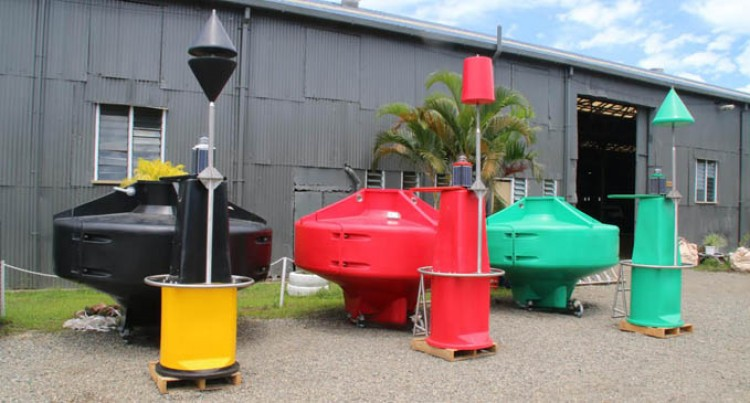 Levuka Passage Has Two Navigational Bouys