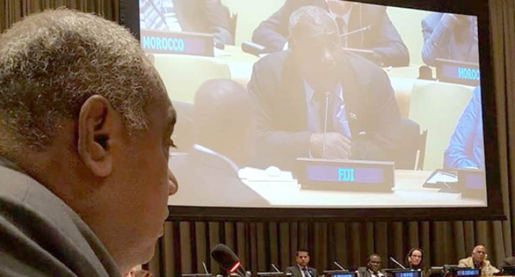 Fiji's Role In UN Ocean  Conference Is Crucial
