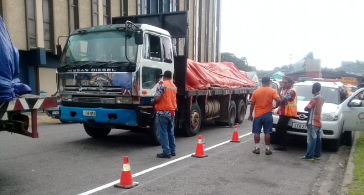 LTA Weigh Heavy Vehicles At Ports And Jetties