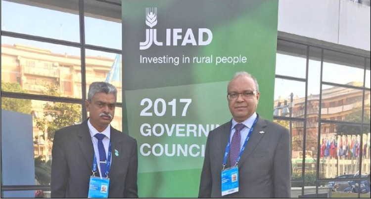 Fiji Participates at International Fund  for Agricultural Development Meet