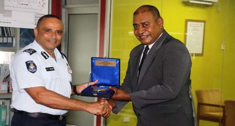 Police Bid Farewell To ACP Vuniwaqa