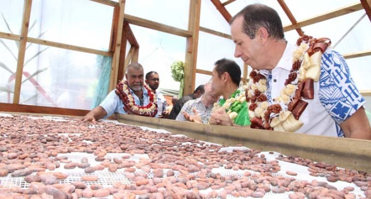 Lutu villagers To Benefit  From Cocoa Processing Unit