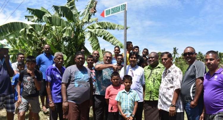 Residents Celebrate Road Naming