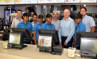 McDonald's NZ, Pacific Head Visits Fiji