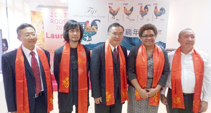 Year of the Rooster Stamps Launched