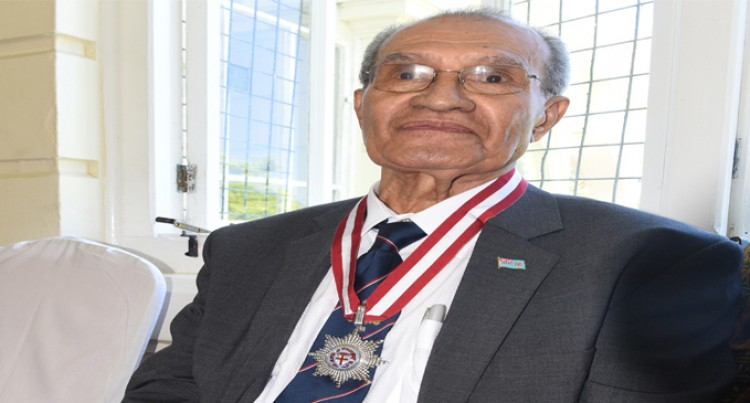 Bole Honoured  For His Service