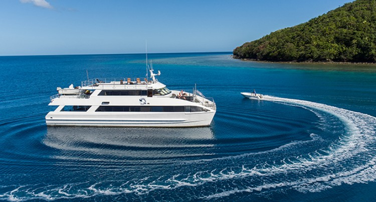 Pacific Quest dive charter at Pearl