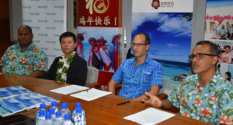 Tourism Fiji to capitalise growth in China