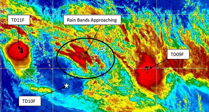 Weather update 9am saturday 11th february 2017 fiji sun weather update 9am saturday 11th february 2017 gumiabroncs Images