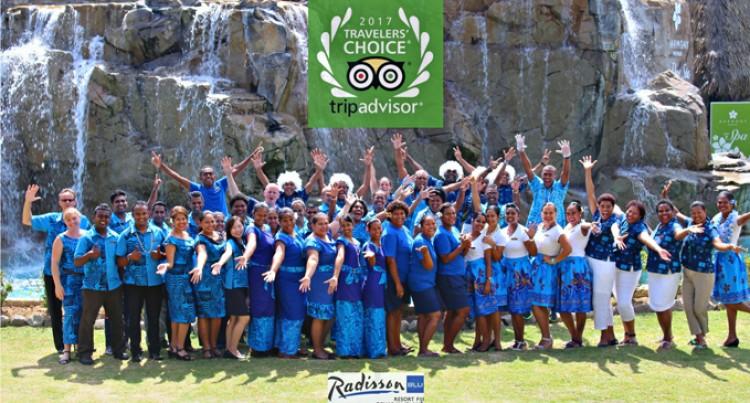 TripAdvisor Ranks Radisson Blu Resort First In Family Resorts
