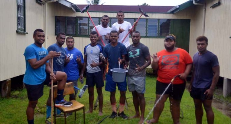 Players Clean Up Home