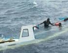 Tavewa Seabus crew save 3 from capsized boat.