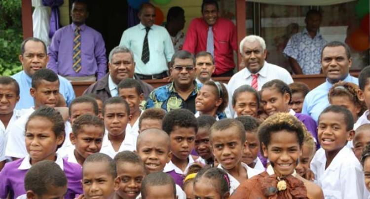 Reddy Opens School Dormitory