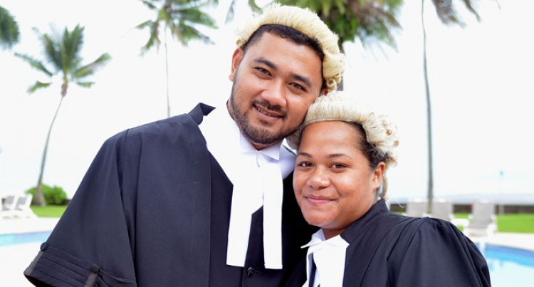 Couple Admitted To The Bar Together