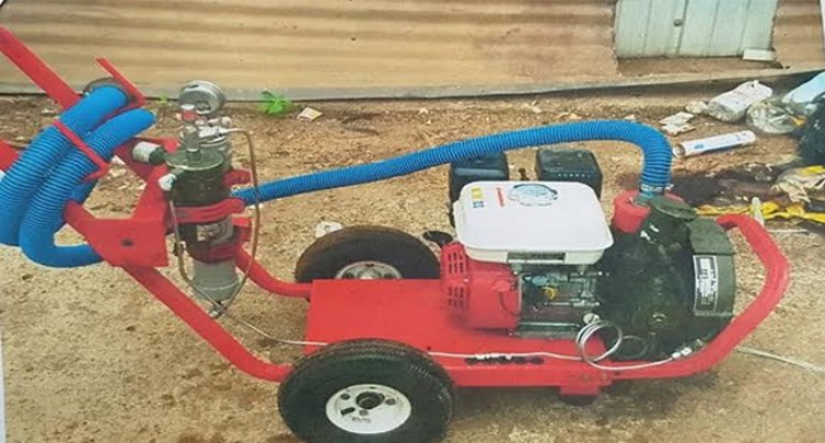 $5000 Reward for Recovery  of 'Three Stolen Compressors'