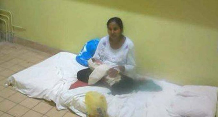 Ministry 'Sorry' For Mother, Baby Sleeping On Floor
