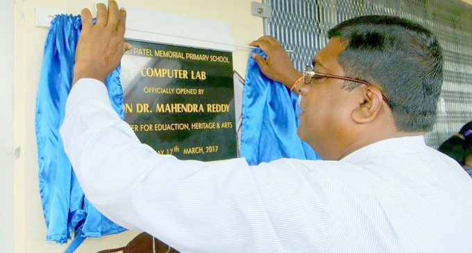 New Computer Lab Opens for Shri AD Patel Memorial Primary