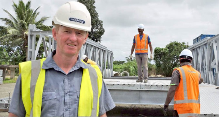 Fiji Roads Authority Rolls Out Bailey Bridge Training and Installation at Kasavu