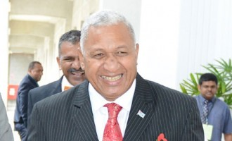 Bainimarama  At Donor's Meet For COP23 Build-up