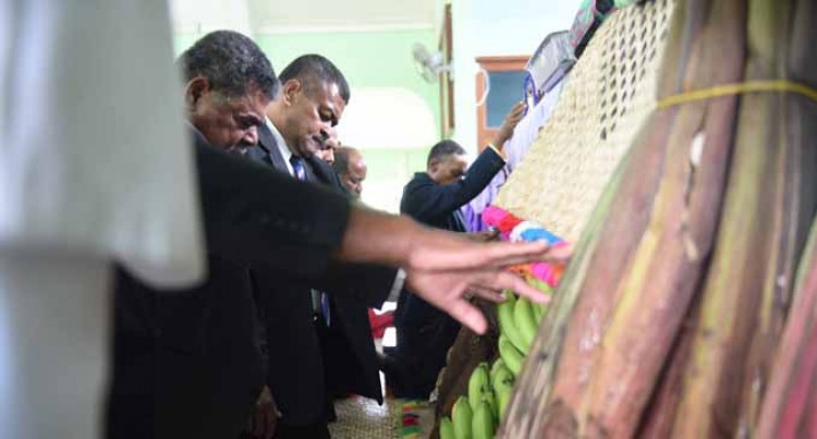 Religion Church Celebrates First Fruits Service