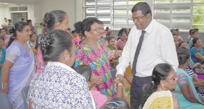 Reddy Commends Women's Works