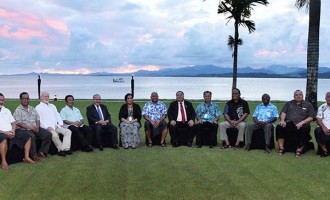 United Nations Ocean Conference O'Neill Backs  Fiji's Ocean,  Climate Battle