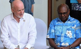 Thomson Calls For Action On Ocean,  Climate Change