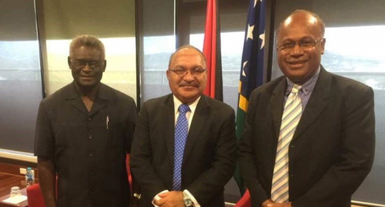 MSG chair meets with PNG PM