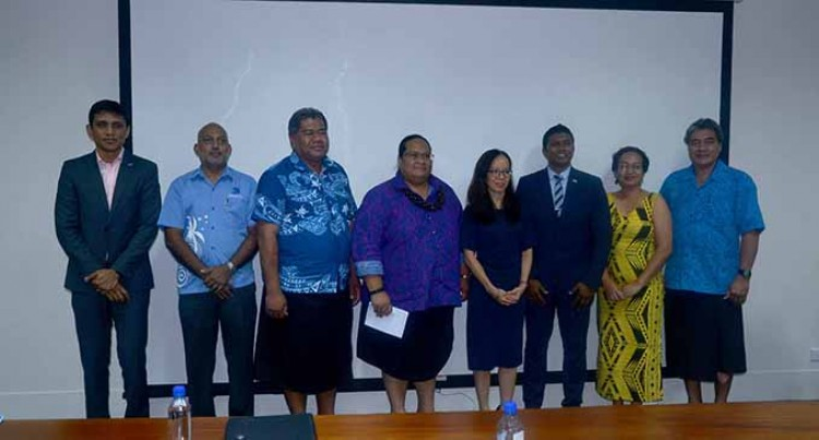 Fiji Commerce  Commission hosts Samoan delegation