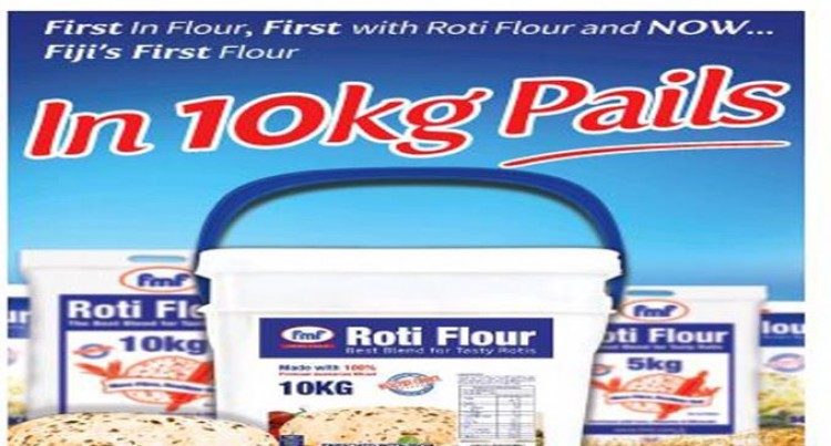Flour In A Pail, First For Fiji