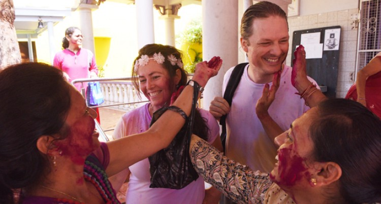 Petrini Family Marks First Holi Outing