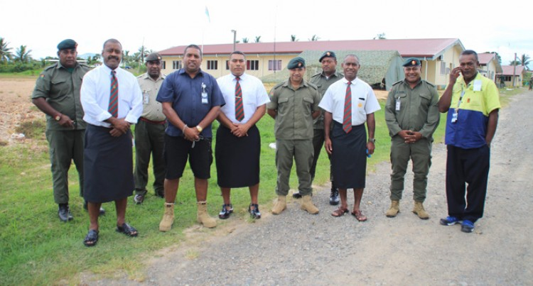 WAF Upgrades Water Mains At Black Rock Camp