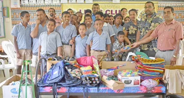 Donor, Lions Club Help Out Special Students