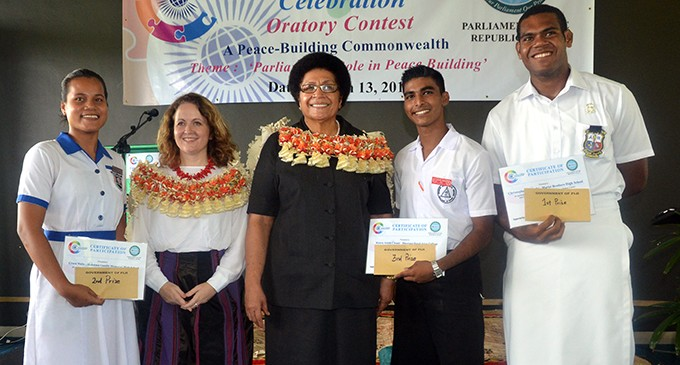 Marist Student from PNG  Wins School Contest
