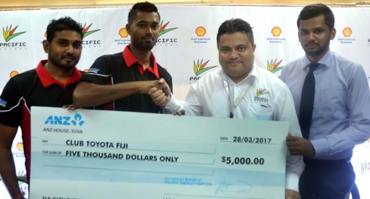 Pacific Energy Backs Club Toyota Fiji